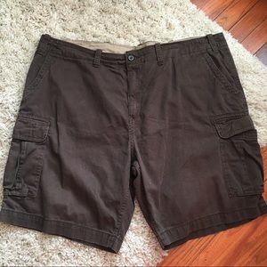 The FOUNDRY SUPPLY CO. Brown Cargo Shorts SIZE: 46